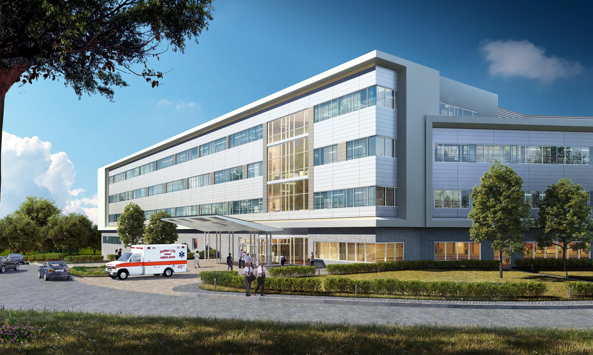 Exterior View Hospital