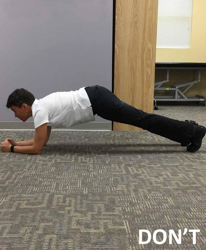 Incorrect-Plank