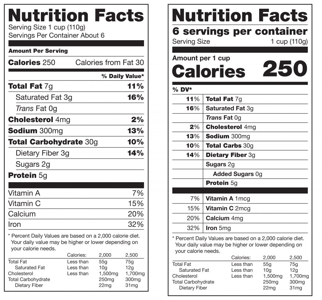 New-vs-Old-Nutrition-Label