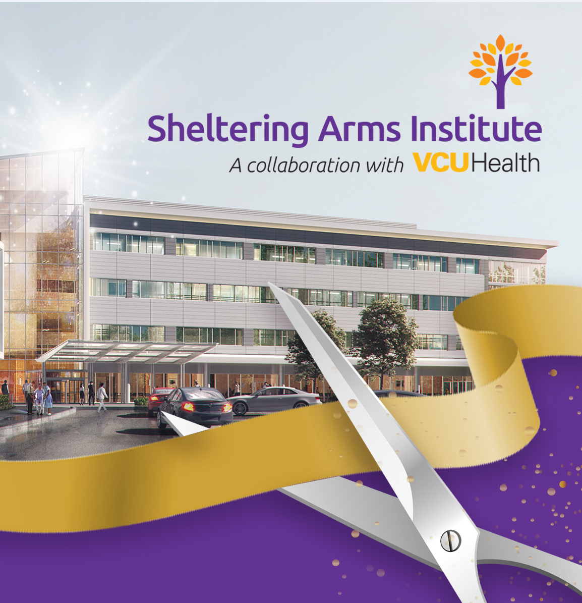 Sheltering Arms Institute Ribbon Cutting