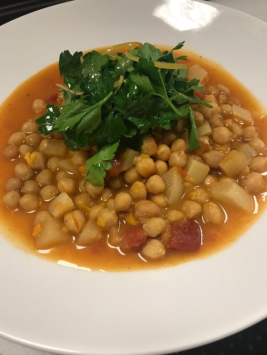 morrocan chickpea soup recipe healthy eats