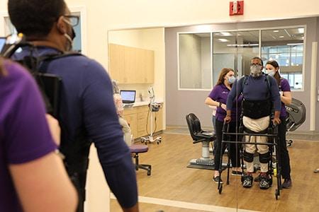 exoskeleton outpatient physical rehabilitation