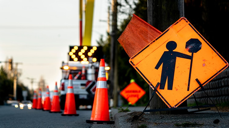 Hanover Center Traffic Alert